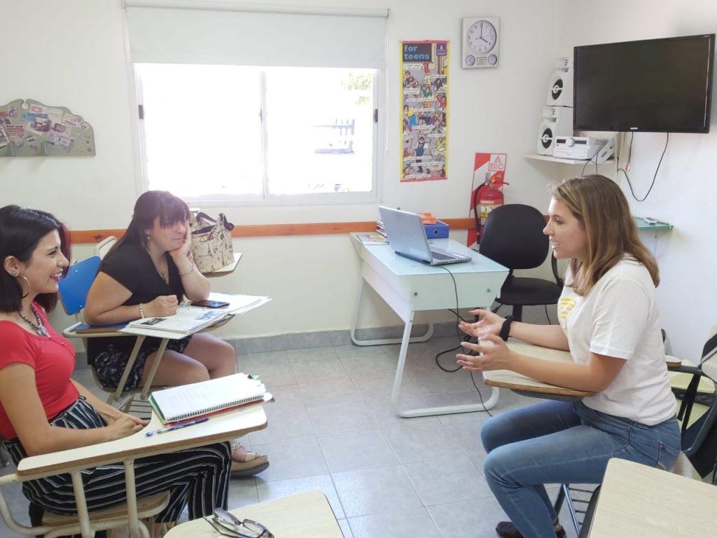 Visita Hablante Nativo de Ingles en Neuquen